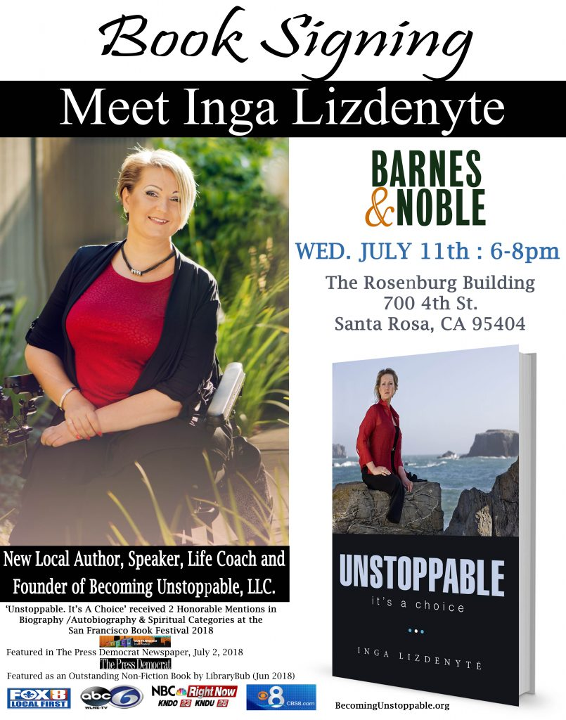 Barnes&Noble Book Signing Invite