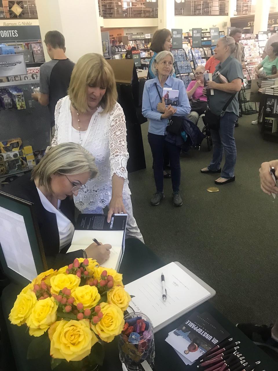 Inga's book signing