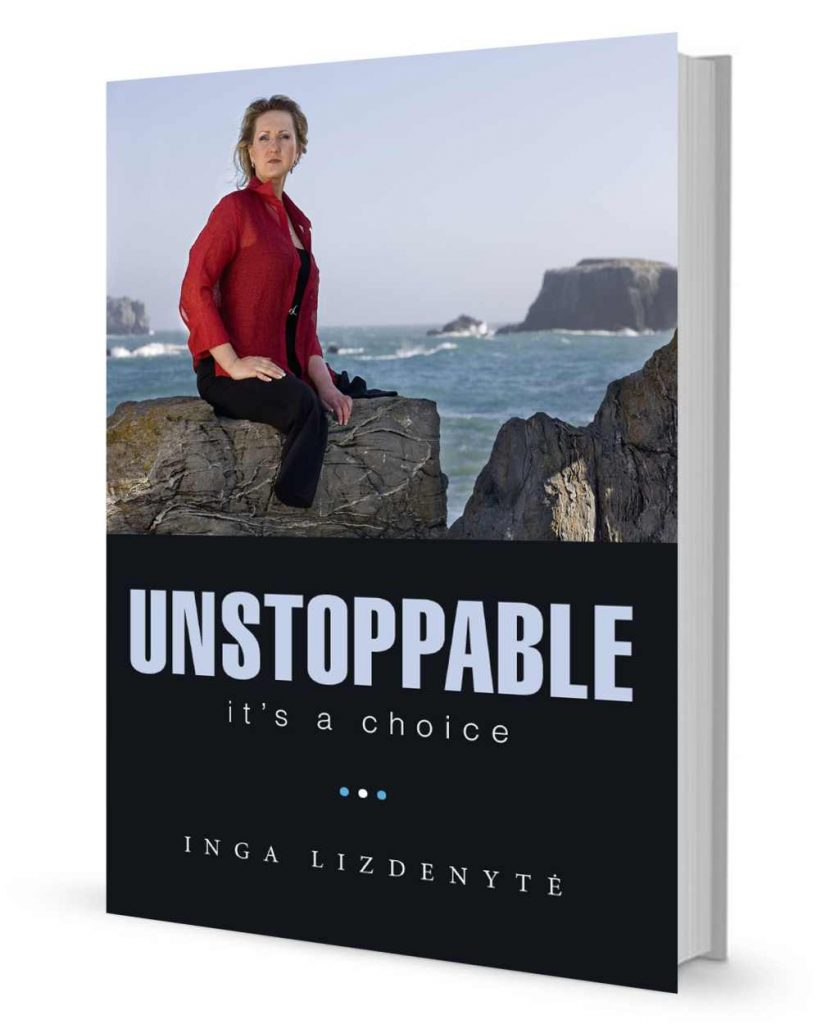 """Button to buy the book """"UNSTOPPABLE. It' a choice"""""""