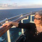 Inga on the ship