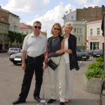 With my parents, Vilnius Lithuania