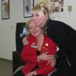 With Mary Kay National Director